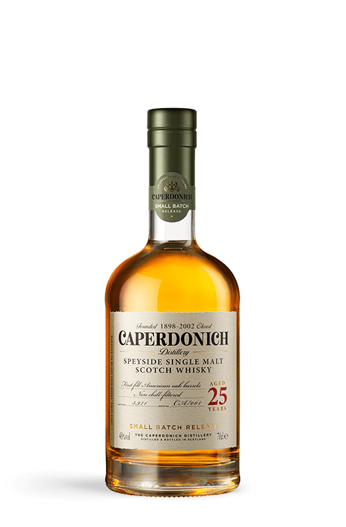 caperdonich 25 years unpeated bottle