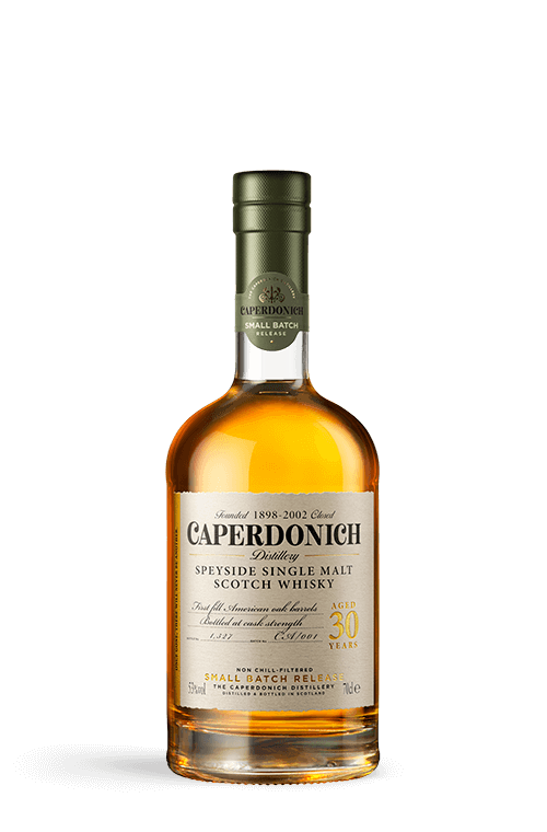 caperdonich 30 years unpeated bottle