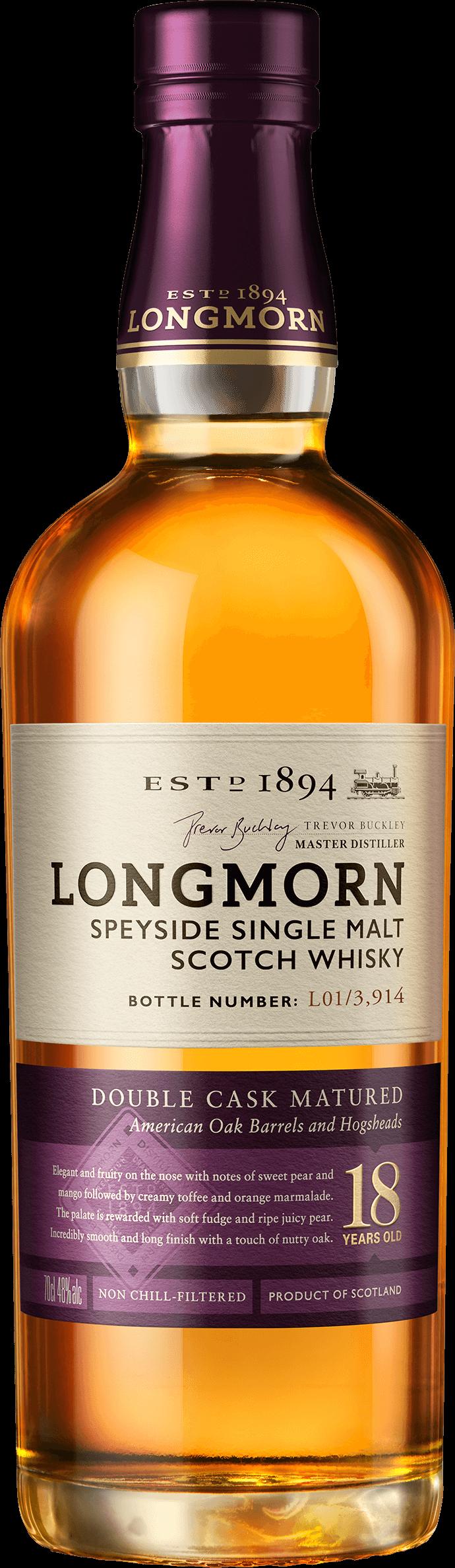 Longmorn aged 18 years
