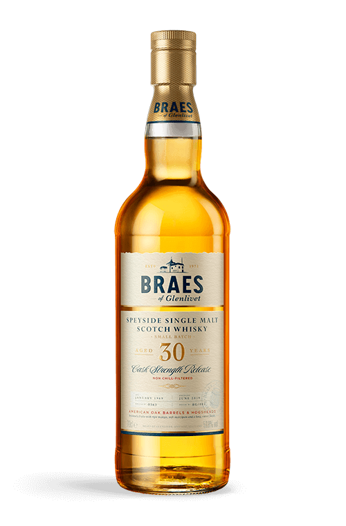 Bottle of Braes aged 30 years