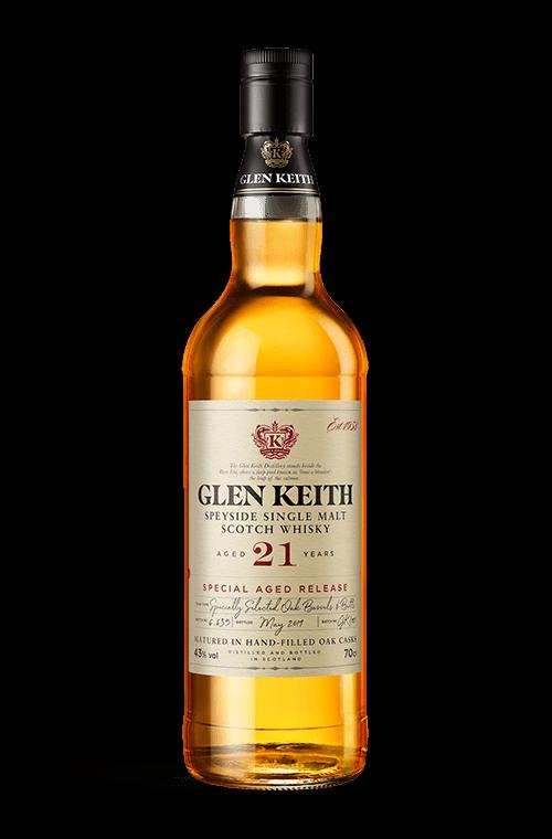Glen Keith 21 years bottle