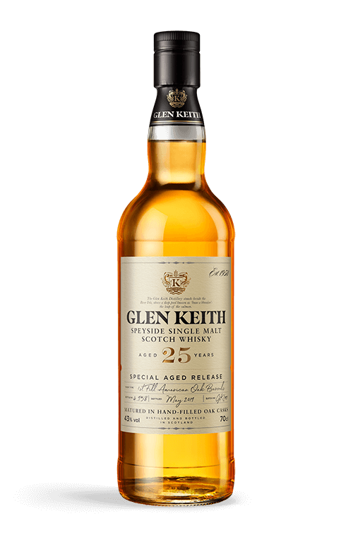 Glen Keith 25 years bottle