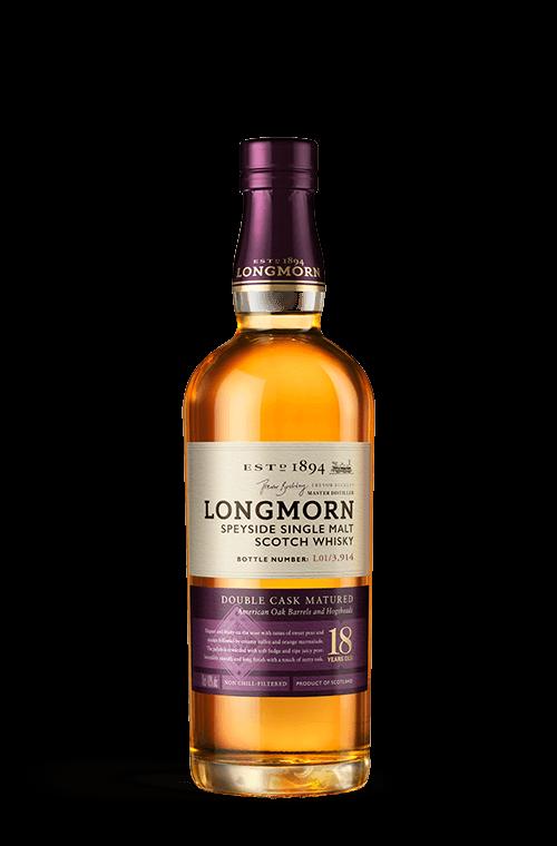 Longmorn 18 years bottle