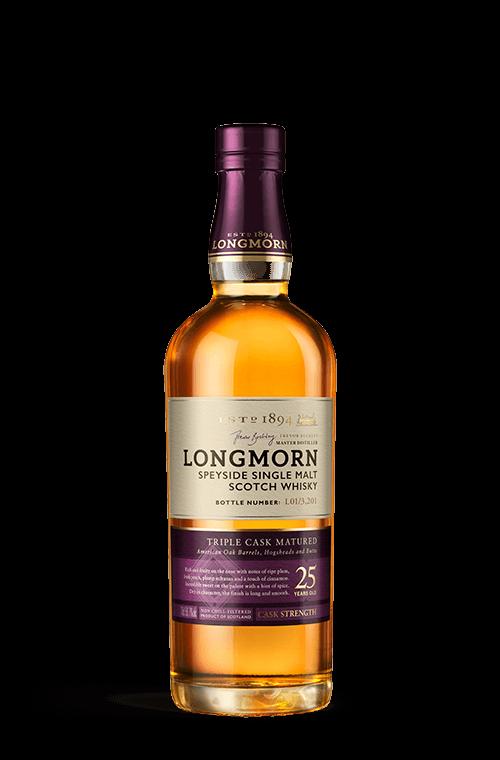 Longmorn 25 years bottle